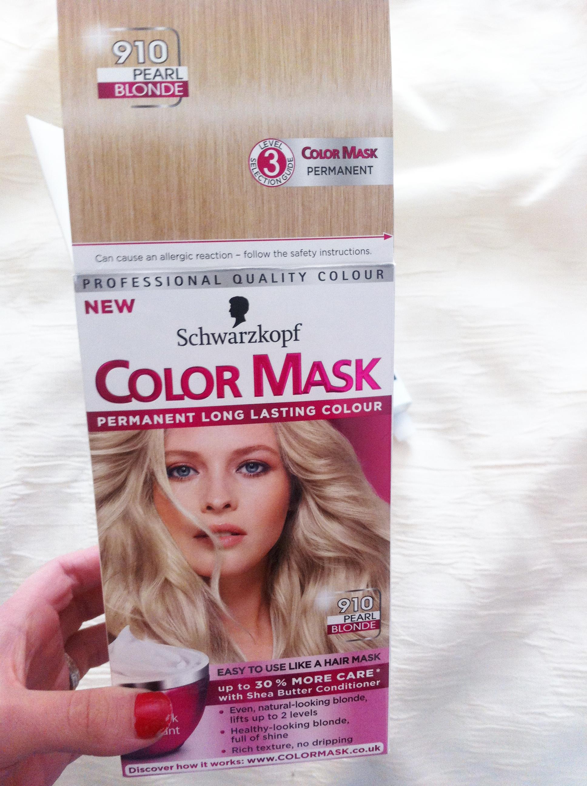 Schwarzkopf Pearl Blonde Color Mask 910 Review